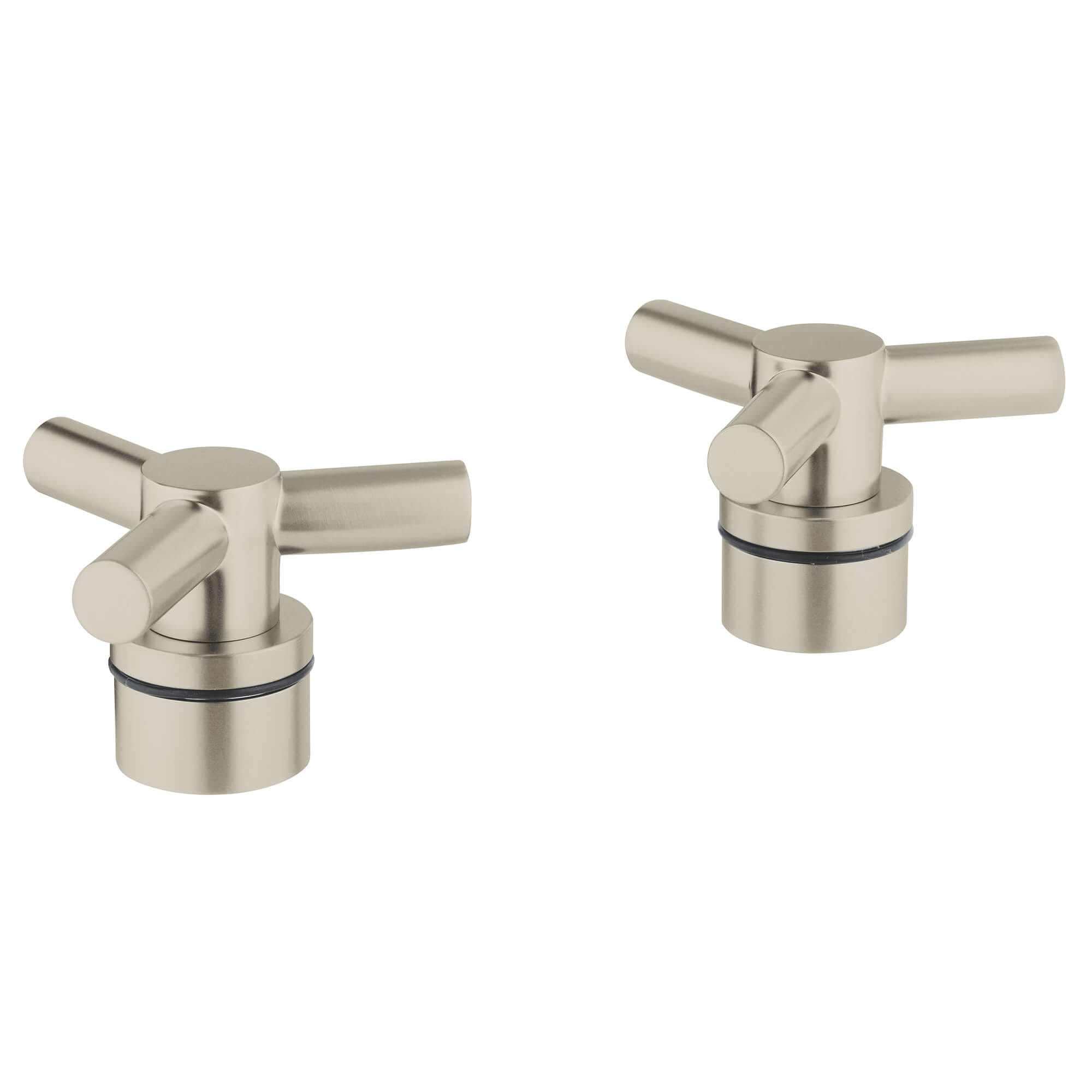 ATRIO Cross Handles GROHE BRUSHED NICKEL