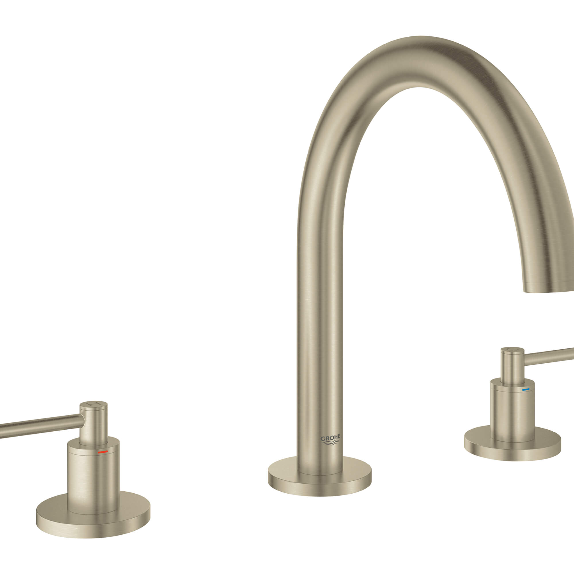 ATRIO Lever Handle Bath GROHE BRUSHED NICKEL
