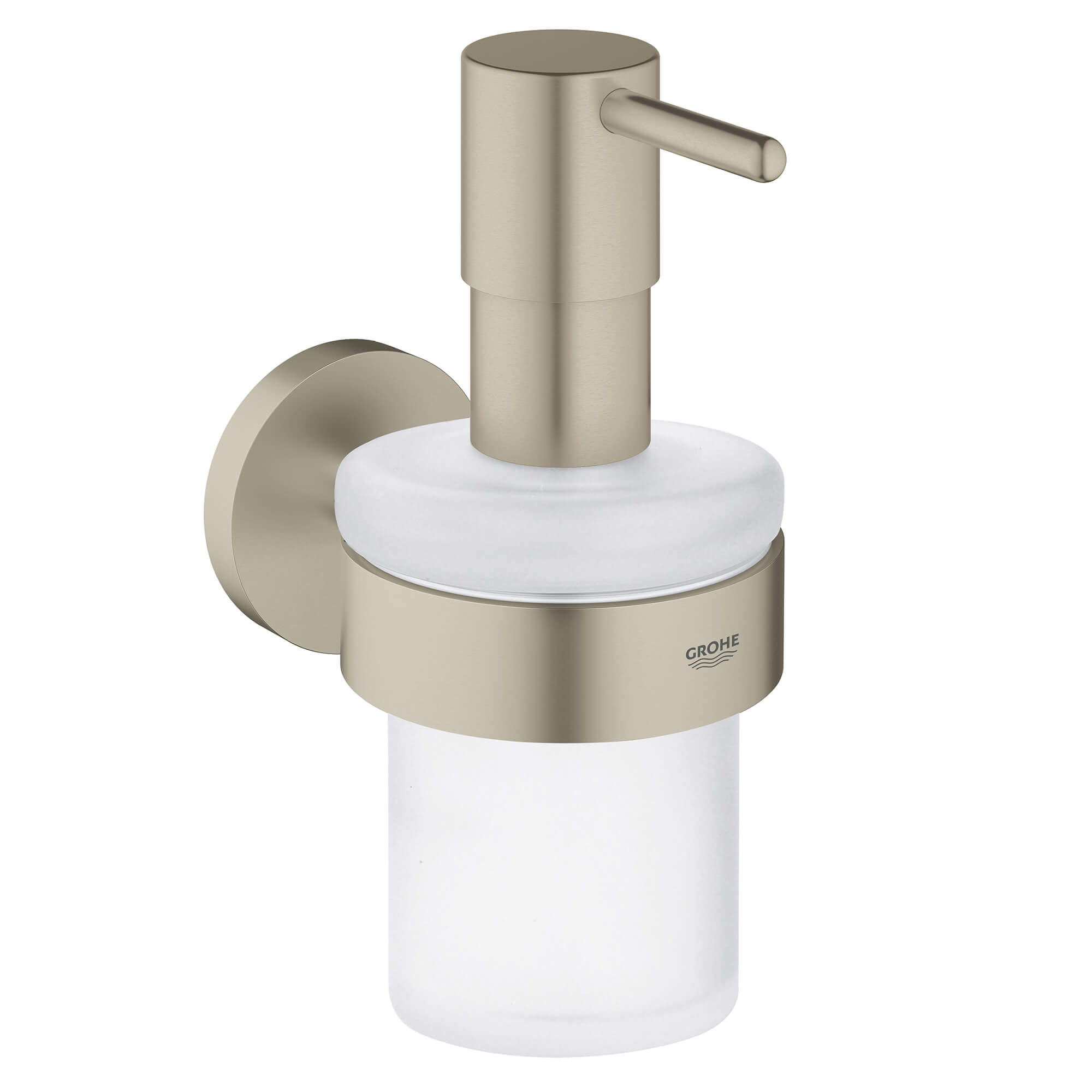 Soap Dispenser with Holder GROHE BRUSHED NICKEL