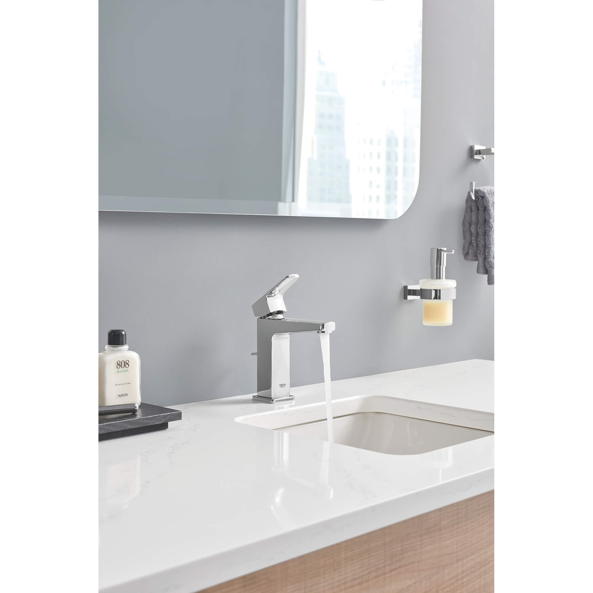 Soap Dispenser with Holder GROHE CHROME