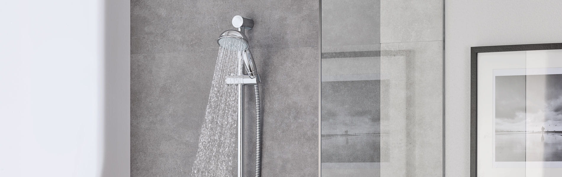 Tempesta Rustic Shower