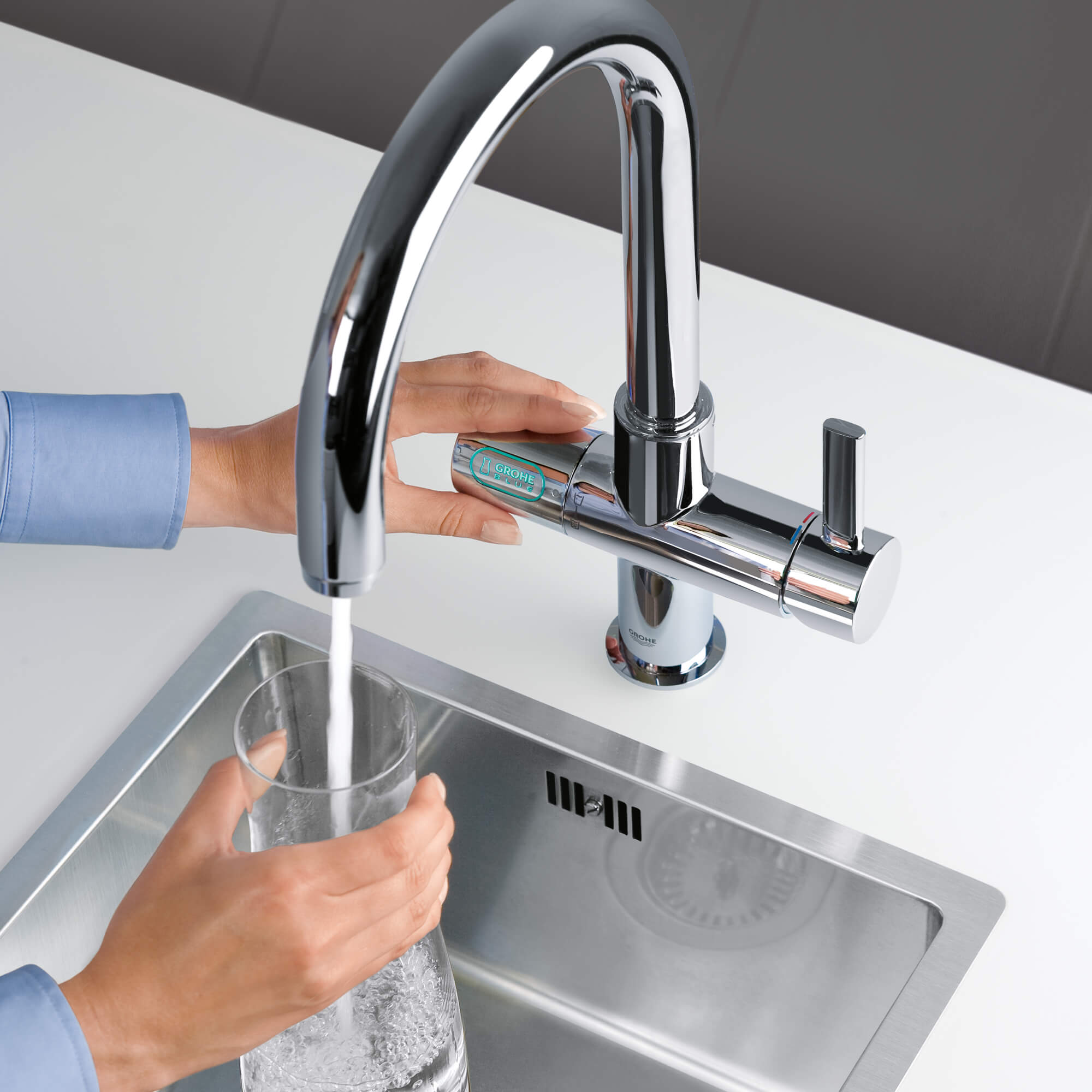 GROHE Blue Pure Kitchen Faucet