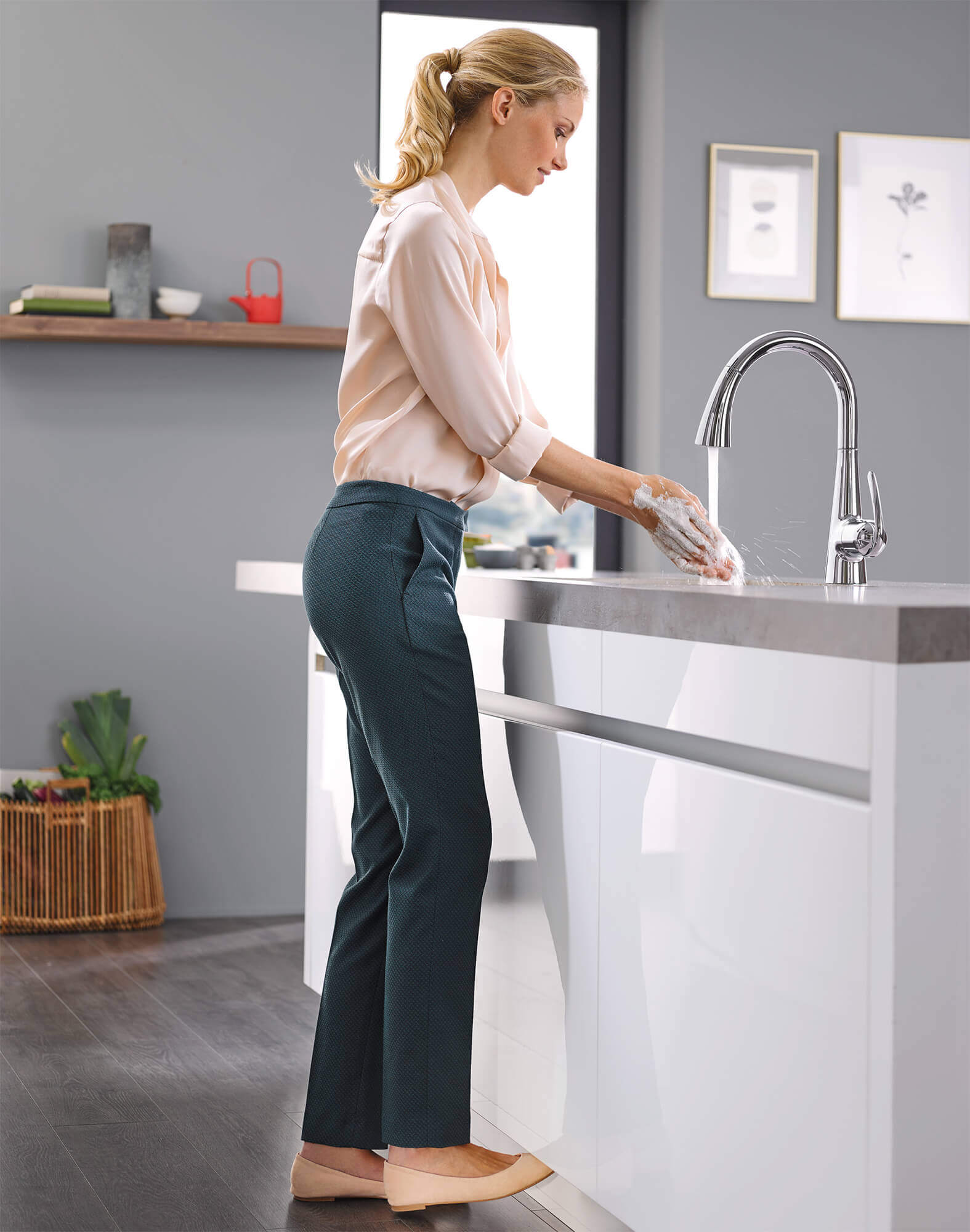 Footcontrol Kitchen Faucet by GROHE